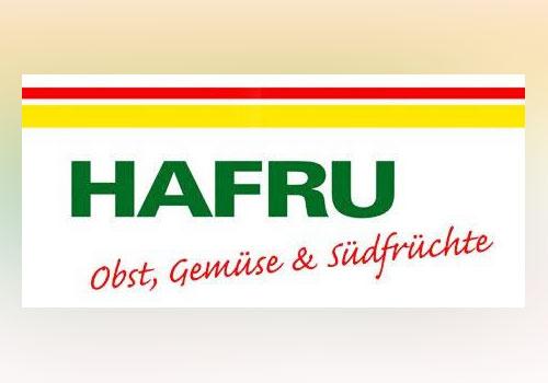 Hafru <br> Von der hanseatischen Fruchtvertriebsgesellschaft erhalten wir Obst und Gemüse sowie viele Südfrüchte.