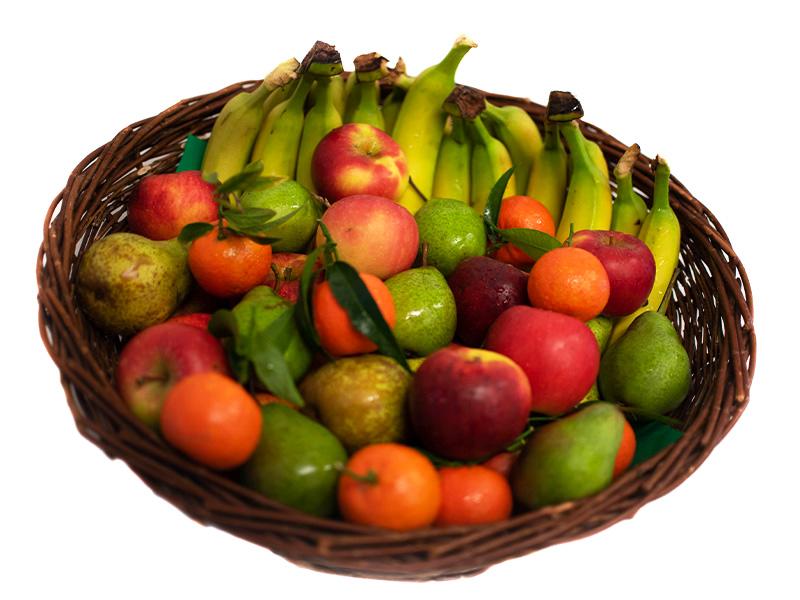 Der Obstkorb Fällt Um